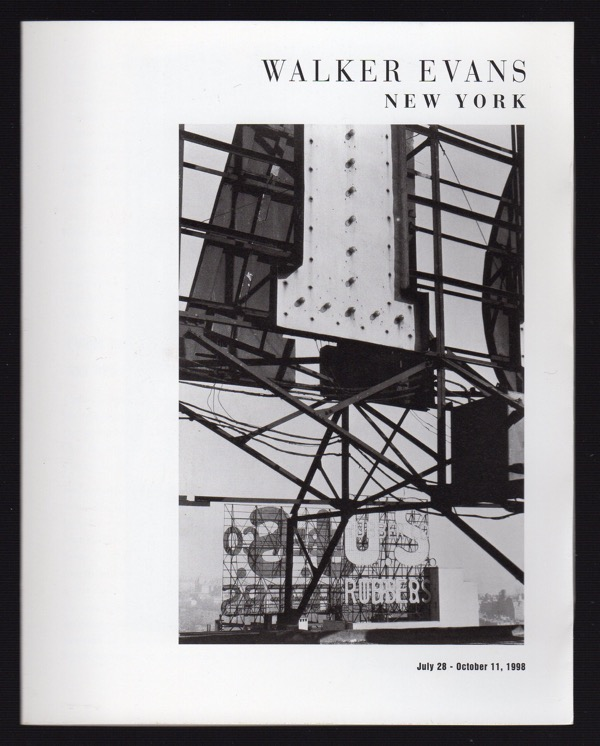 Image for WALKER EVANS, NEW YORK