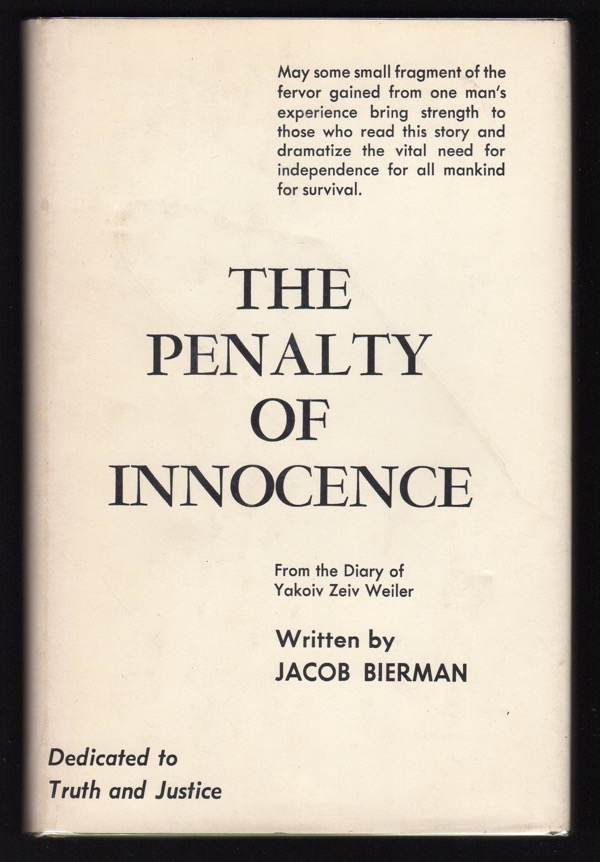 Image for THE PENALTY OF INNOCENCE