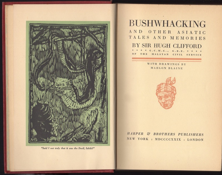 Image for BUSHWHACKING AND OTHER ASIATIC TALES AND MEMORIES