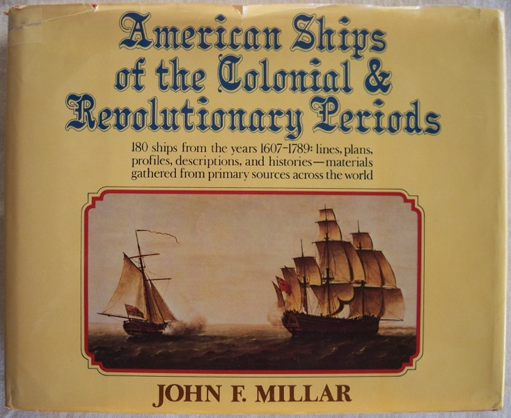 Image for AMERICAN SHIPS OF THE COLONIAL & REVOLUTIONARY PERIODS