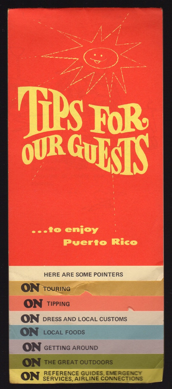 Image for TIPS FOR OUR GUESTS...TO ENJOY PUERTO RICO