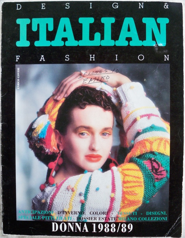 Image for DESIGN & ITALIAN FASHION DONNA, 1988/89, 24