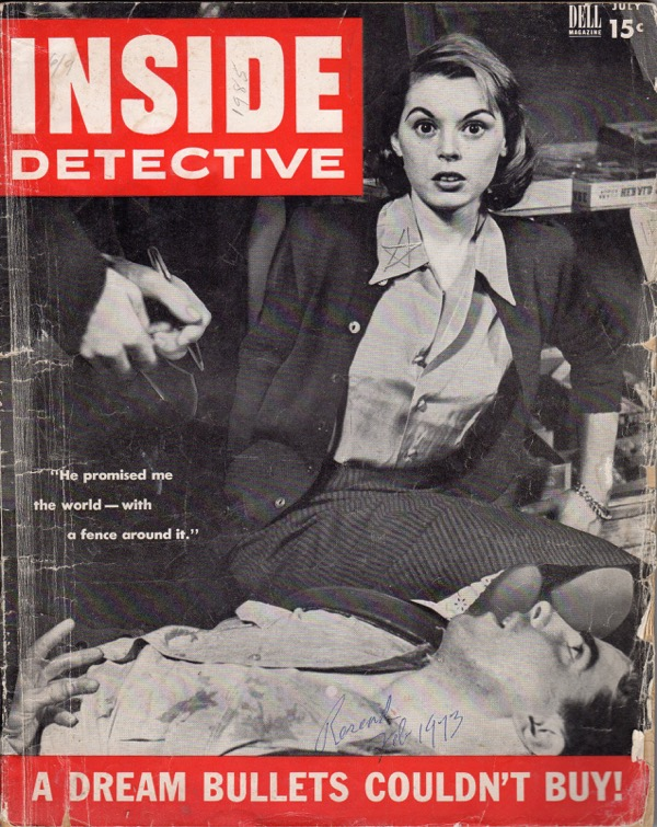 Image for INSIDE DETECTIVE, JULY 1953, VOL. 8, NO. 43