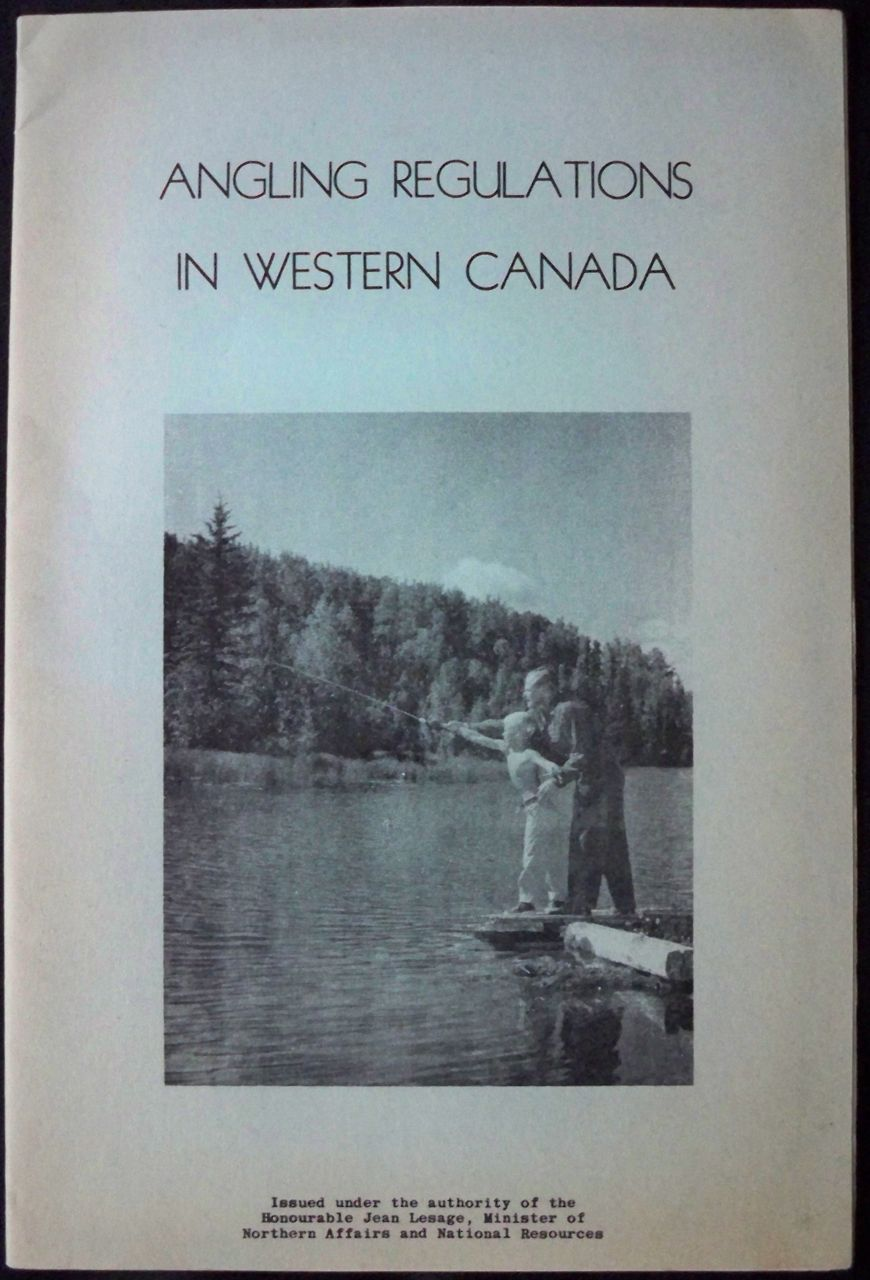 Image for ANGLING REGULATIONS IN WESTERN CANADA