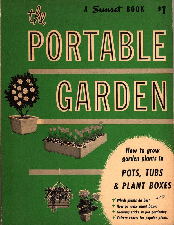 Image for THE PORTABLE GARDEN