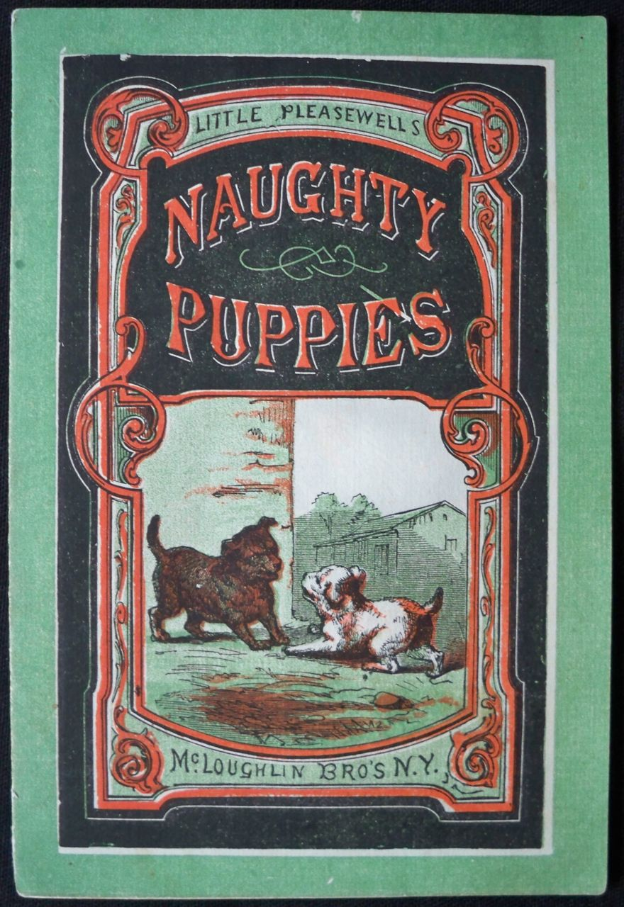 Image for NAUGHTY PUPPIES (LITTLE PLEASEWELLS)