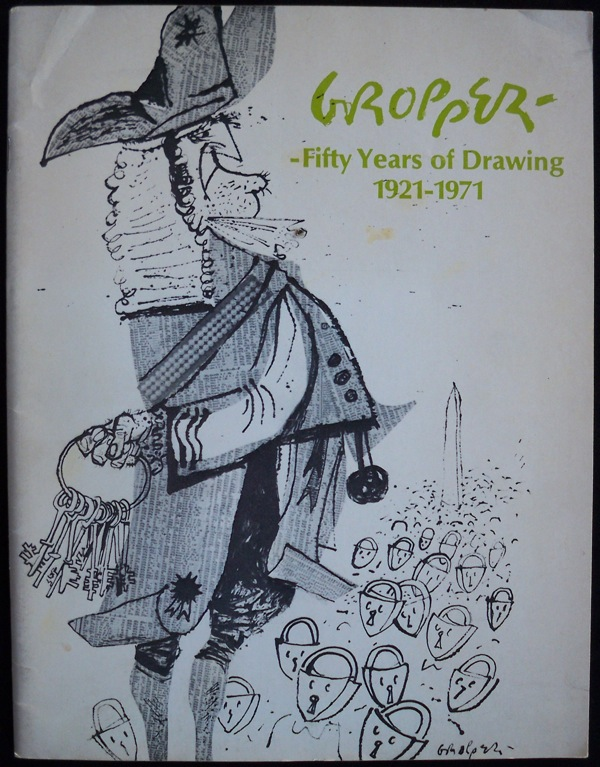 Image for WILLIAM GROPPER: FIFTY YEARS OF DRAWING, 1921-1971