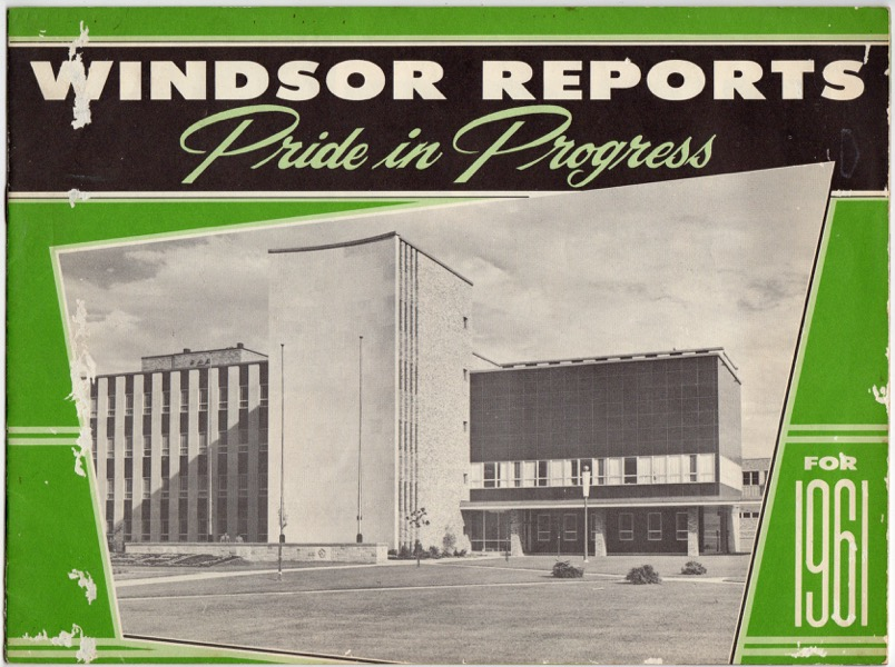 Image for WINDSOR REPORTS: PRIDE IN PROGRESS FOR 1961