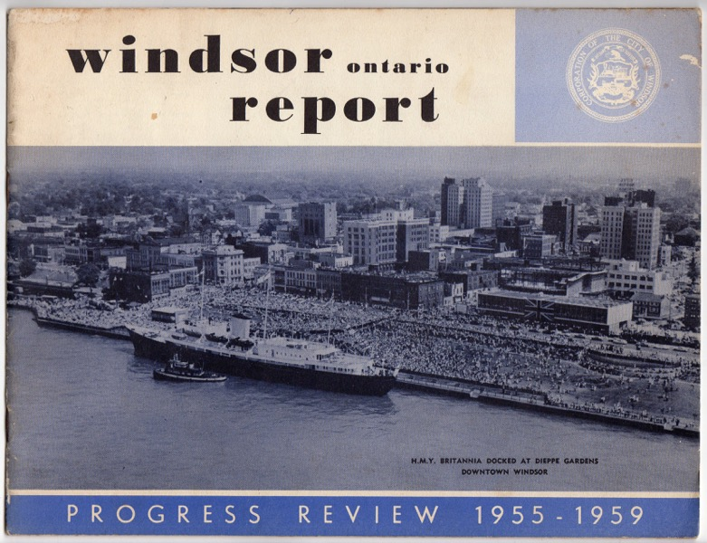 Image for WINDSOR ONTARIO REPORT: PROGRESS REVIEW, 1955-1959