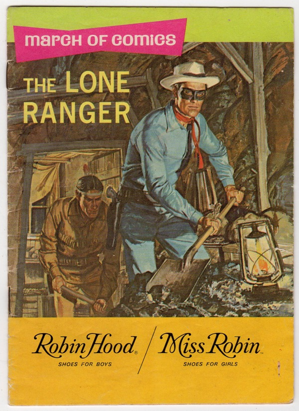 Image for THE LONE RANGER: THE SECRET SILVER MINE (BOYS' AND GIRLS' MARCH OF COMICS, NO. 388)