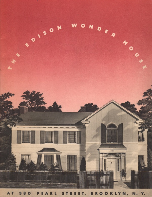 Image for THE EDISON WONDER HOUSE AT 380 PEARL STREET, BROOKLYN, NEW YORK