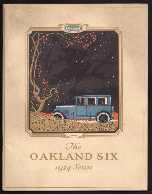 Image for OAKLAND SIX, 1924 SERIES PROMOTIONAL ITEMS