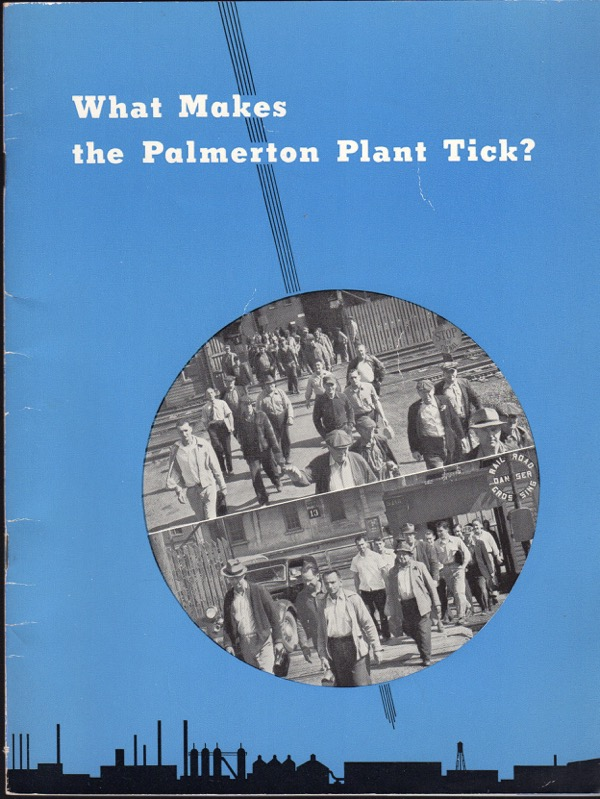 Image for WHAT MAKES THE PALMERTON PLANT TICK?