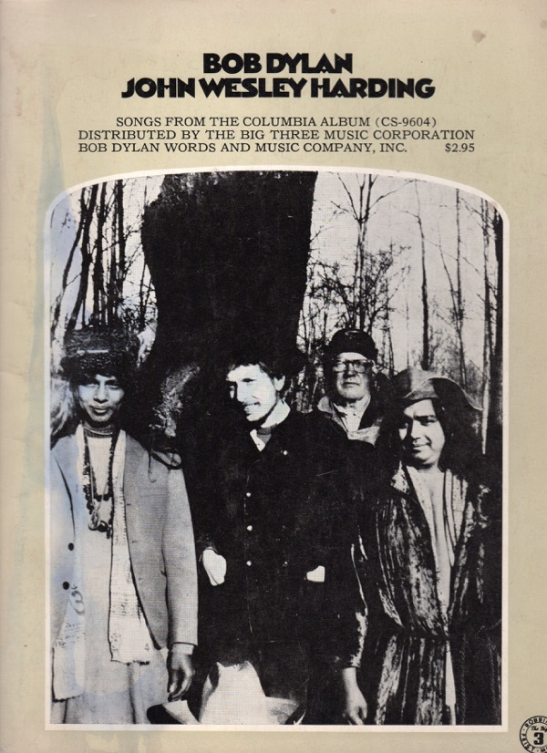 Image for JOHN WESLEY HARDING: SONGS FROM THE COLUMBIA ALBUM (CS-9604)