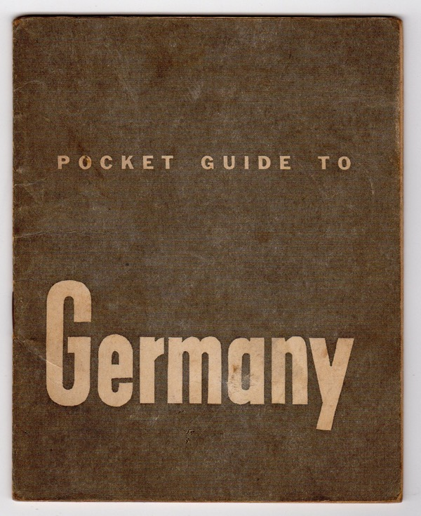 Image for POCKET GUIDE TO GERMANY