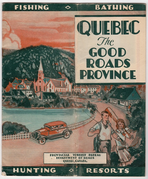 Image for QUEBEC, THE GOOD ROADS PROVINCE