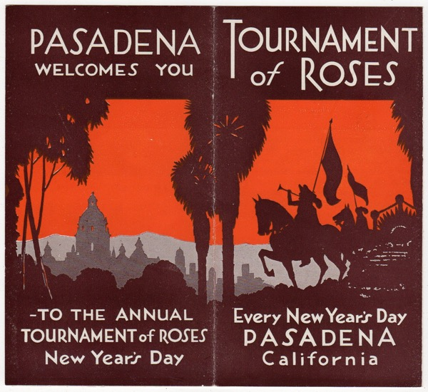 Image for TOURNAMENT OF ROSES: EVERY NEW YEAR'S DAY, PASADENA, CALIFORNIA (ON BACK: PASADENA WELCOMES YOU - TO THE ANNUAL TOURNAMENT OF ROSES, NEW YEAR'S DAY)