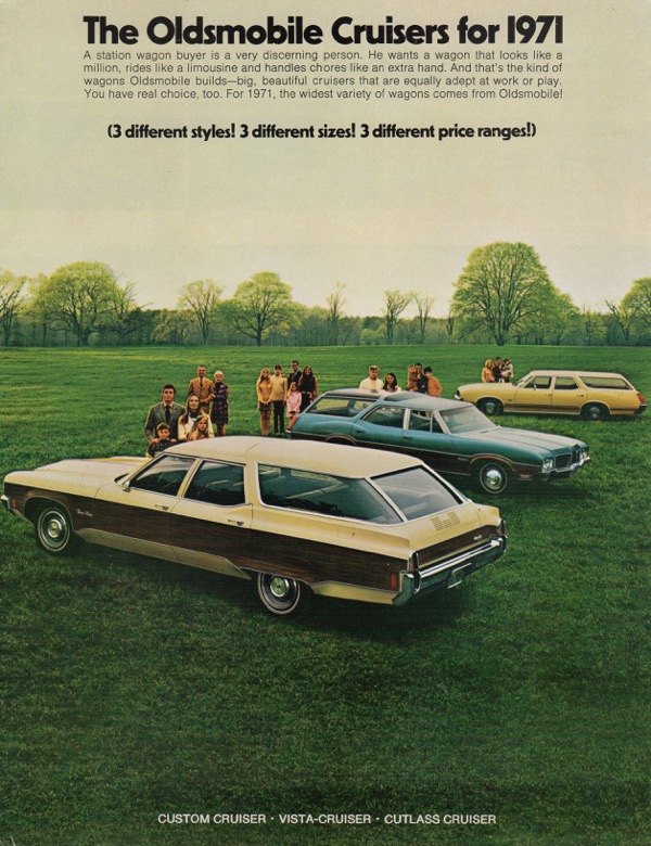 Image for THE OLDSMOBILE CRUISERS FOR 1971