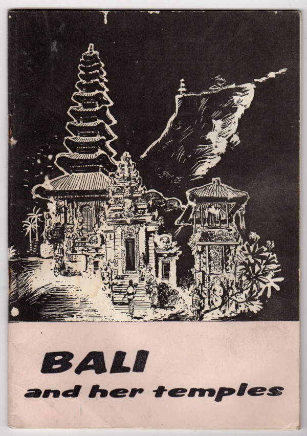 Image for BALI AND HER TEMPLES, SPECIAL ISSUE 74