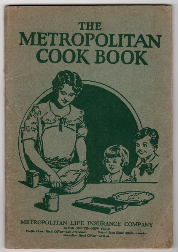 Image for THE METROPOLITAN COOK BOOK